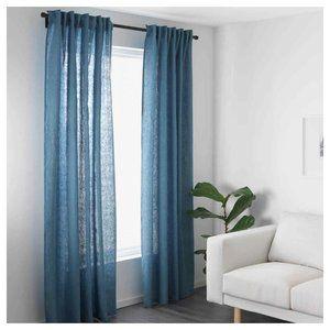 IKEA AINA Curtains 2 Panels (1 pair) 100% Linen